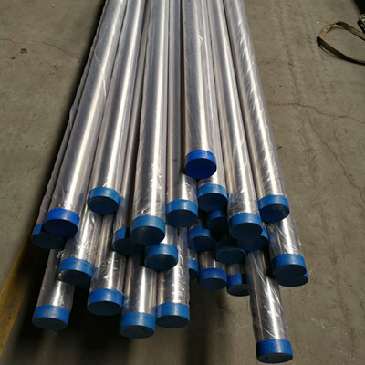 Welded Steel Pipe, A269 TP304L, 6M, 2mm, DN80, Polish 240 Grid
