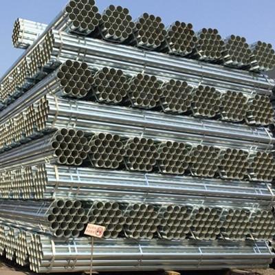 ASTM A53 Gr.B Galvanized Carbon Steel Pipe, OD 33.4 MM, SCH 5S