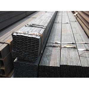 Carbon Steel Square Pipe, S235JR, Width 80mm X 60mm, Length 6000mm