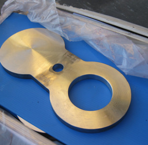 PDO Approved Blind Flange, Spacer Ring, A182 F316, DN150, PN50