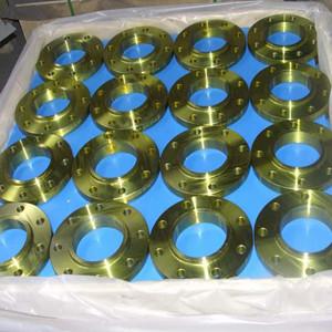 ANSI B16.5 Slip-on Flange, ASTM A105, DN150, PN50
