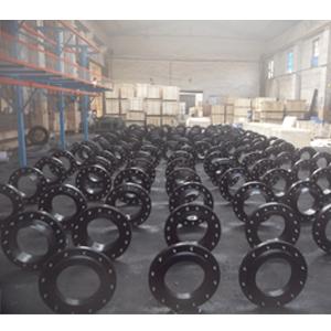 ASTM A105 Weld Neck Flanges, 300LB, 12IN, Black Coating