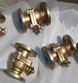 Aluminum Bronze Ball Valve, ASTM B 148 C95800, RF End, DN50, PN20