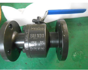 ASTM A105N Floating Ball Valve, A182 F6A Ball & Seat, DN40, PN20