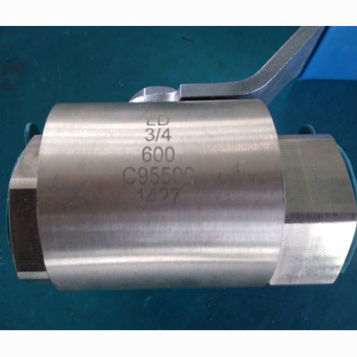 ASTM B763 C95500 Floating Ball Valve, Fire-proof, PN100, DN20