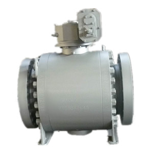 Flanged RF Forged Ball Valve, DN400, 3-PC Body
