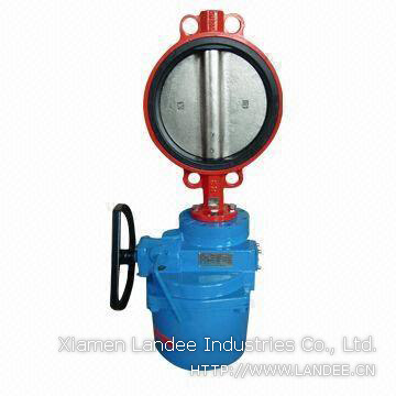 Electrically Actuated Butterfly Valve, 2-72 Inch