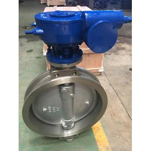 ASTM A351 CF8 Triple Eccentric Wafer Butterfly Valves, CL150