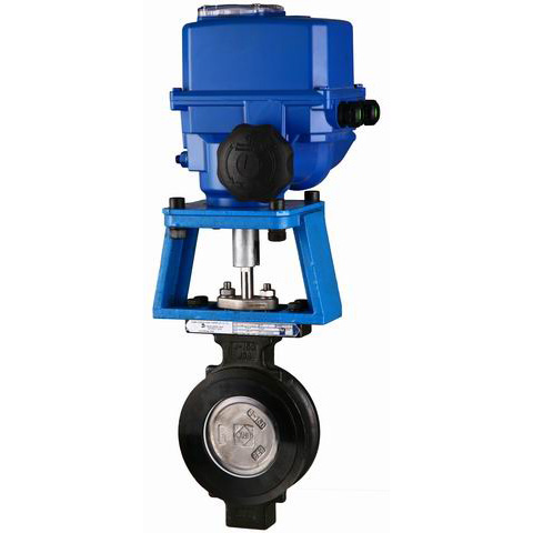 Electric Butterfly Valve, CS, SS, AS, 300LB