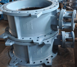 EPDM Seated Butterfly Valve, PN16, DN700