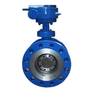 Graphite Seated Butterfly Valve, F6A Stem, PN64
