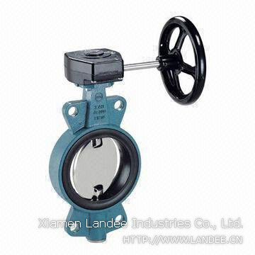 Resilience Seated Wafer Butterfly Valve, DN1800