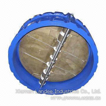 SS304 Wafer Butterfly Valve, VITON Seated