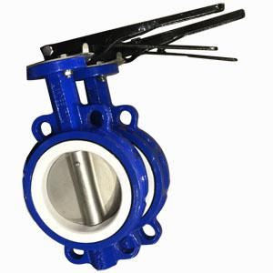Wafer Butterfly Valve, Cast Iron, DN250, PN10, SS316 Disc