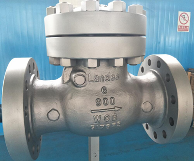 PN150 Check Valve, ASTM A216 WCB, DN150, Flanged