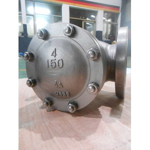 205 Duplex SS Check Valve, PN20, DN100, BS1868, 219mm