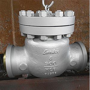 ASTM A217 WC6 Swing Check Valve, BS 1868, 8IN, CL900