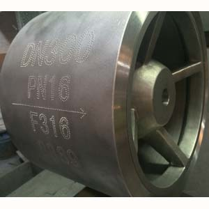 ASTM A182 F316 Check Valve, 12 Inch, CL150