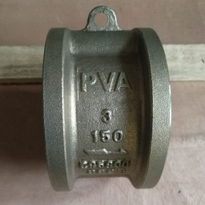 ASTM B148 C95800 Wafer Check Valve Dual Plate DN80 PN20 FF Flange