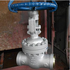 API 600 Gate Valve, ASTM A217 WC6, 5IN, CL900, Trim 8#