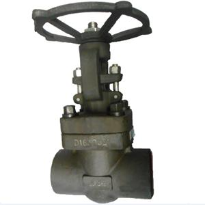 API 602 Gate Valve, ASTM A182 F11, 2IN, CL900, Trim 8, SW