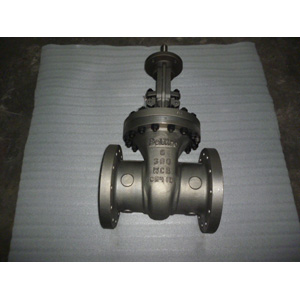 ASTM A216 WCB Gate Valves, CL300, 6IN, Raised Face Ends