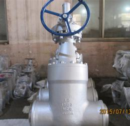 Alloy Steel Globe Valve, ASTM A217 WC6, PN250, DN300, BW End