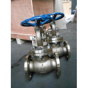 Alumium Bronze ASTM B148 C95800 Globe Valve, 2IN, 150LB, Flanged End