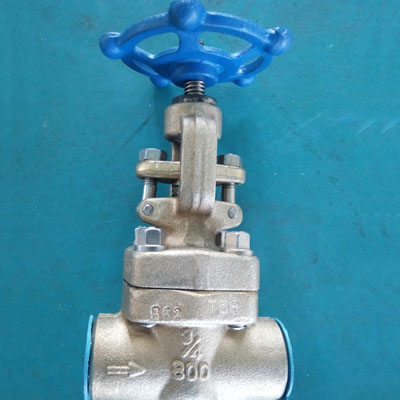ASTM B62 C83600 Globe Valve, API 602, DN130, DN20, Threaded