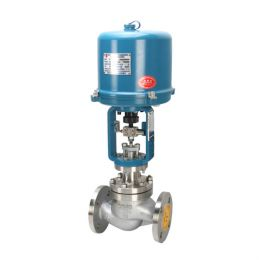 Cage Guided Single Seated Electric Globe Control Valve, Class 150 LB