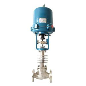 Electric High Temperature Steam Globe Control Valve, DN20, 3/4 Inch