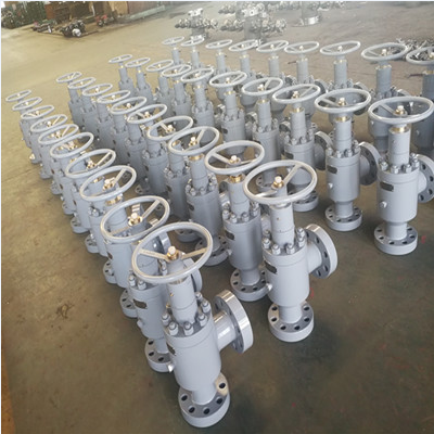 Oil and Gas Choke Valve, AISI 4130, DN80, 5000 PSI, Flanged End