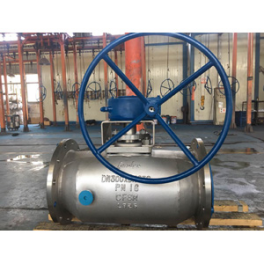 A351 CF8M Plug Valve, Double Heating Jacketed, 250mm X 350mm