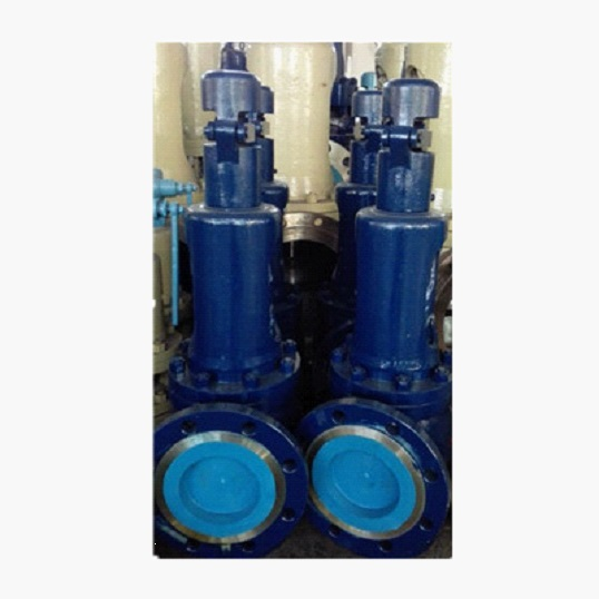 ASTM A216 WCB Safety Valve, DN100-150, 1.4Mpa
