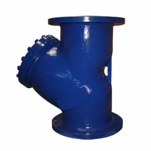 A216 WCB Y-type Pipe Strainer, DN300, PN20, Raised Face
