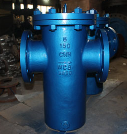 Bucket Type Strainer, A216 WCB, SS304 Mesh, PN900, DN600