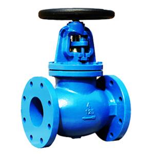 The connection between the valve diameter & the medium's velocity
