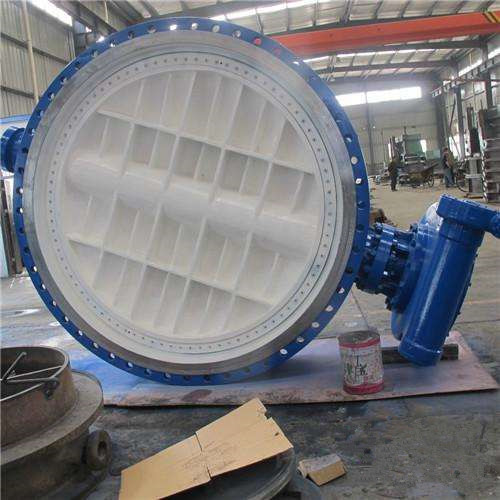 The Application of Large Diameter Aeration Butterfly Valve in Industrial Valves