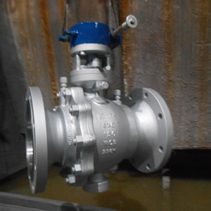 ASTM A216 WCB Ball Valves, Flanged End, DN200 X DN150, PN20