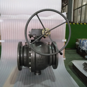 ASTM A352 LCC Ball Valves, PN20, DN300, A350 LF2+ENP Ball+Seat
