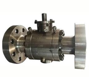 Hand Switch Ball Valve, ASTM A182 F316, API 6D, DN 100, PN 250