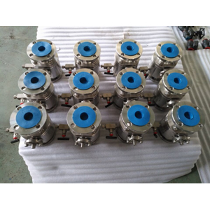 Single Block & Bleed Ball Valve, ASTM A182 F304, PN20, DN50, KELF