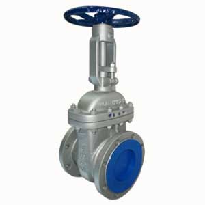 ASTM A216 WCB Gate Valves, DN150, A182 F6 Trim, Gray Painting Treatment