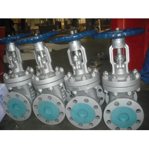 ASTM A216 WCB Gate Valves, DN600, PN50, CR-13 Trim, RF