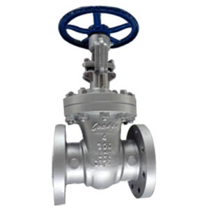 SS304 Trim Gate Valve, A352 LCB Body, PN50, DN100, RF Ends