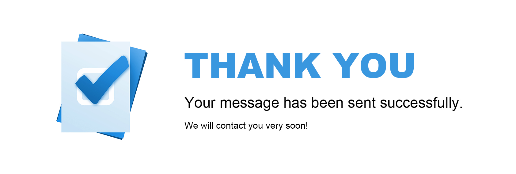Thank You for Contacting Us