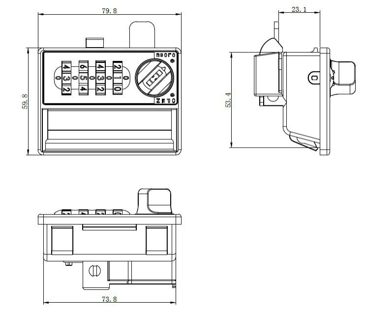 Creation Aesthetics of Make Furniture Office Locks