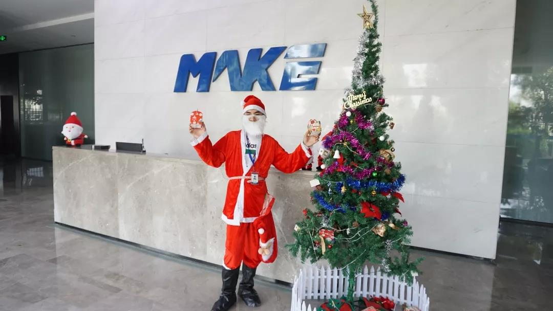 It is said that there is a mysterious person in Makethis christmas?