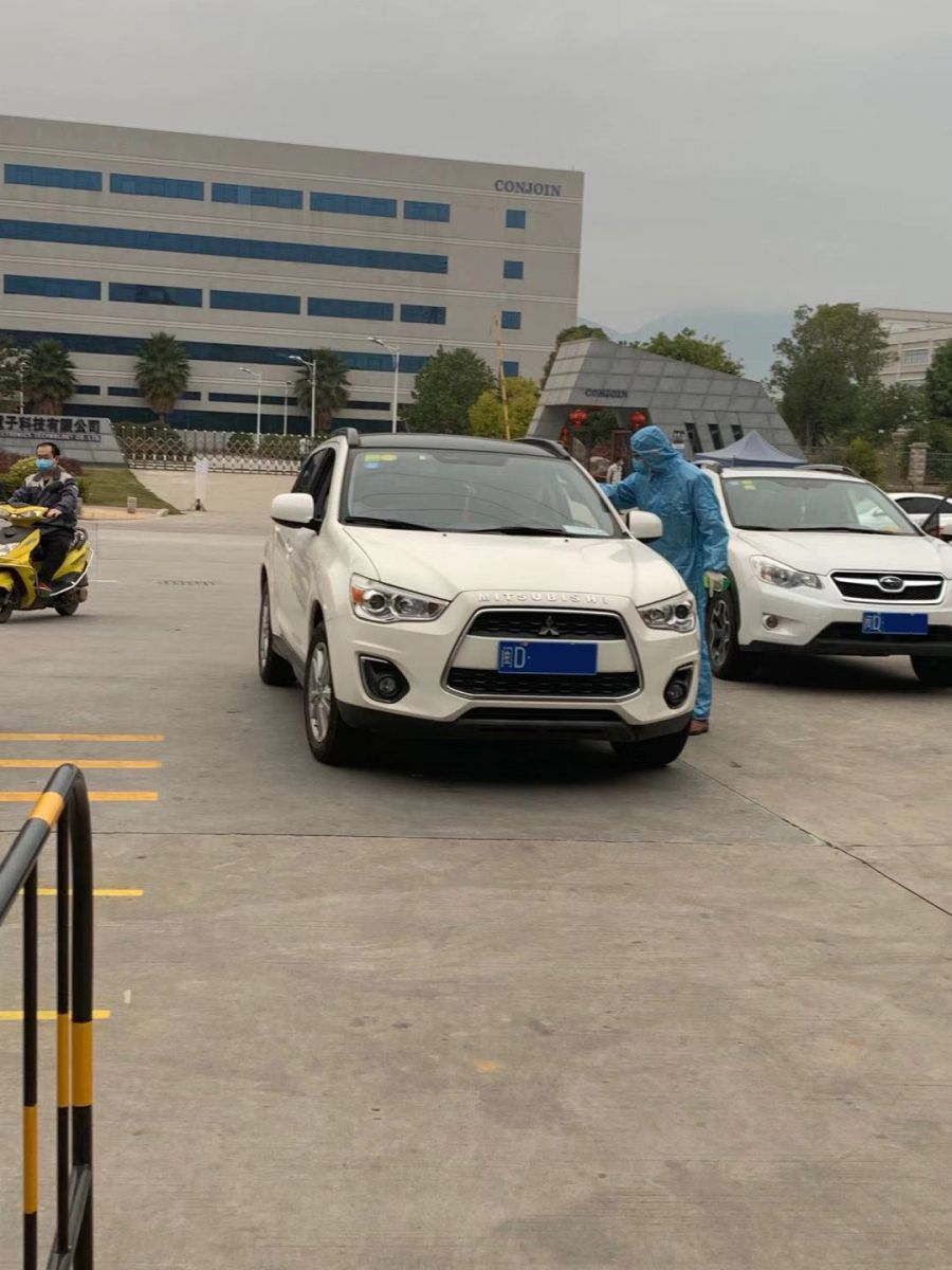 Disinfecting vehicles