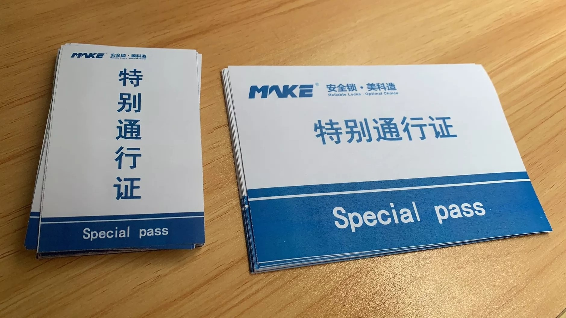 special passes